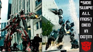 How Sideswipe Almost Died In Transformers DOTM