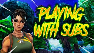 🔴PLAYING WITH SUBSCRIBERS 🔴Fortnite Live Stream/GiveAway At 1kSUBS/NO INVITES PUBLIC LOBBY