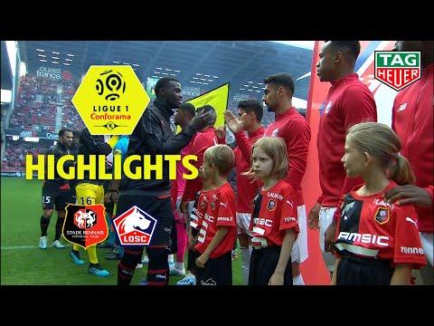 Stade Rennais FC - LOSC ( 1-1 ) - Highlights - (SRFC - LOSC) / 2019-20
