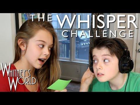 Whisper Challenge | Whitney and Braxton Bjerken