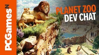 Planet Zoo - Immortal guests, exotic architecture, habitat restrictions