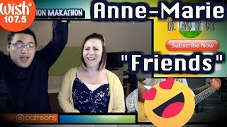 "Anne-Marie performs ""Friends"" LIVE on Wish 107.5 Bus