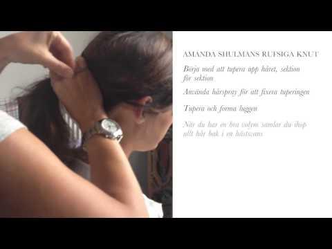 Amanda Schulman- Hårtutorial