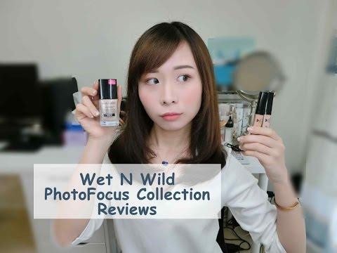 [Tia小恬]WNW湿又野对焦粉底液及遮瑕液10小时测评 干皮&混干-Wet N Wild PhotoFocus Foundation&Concealer Reviews