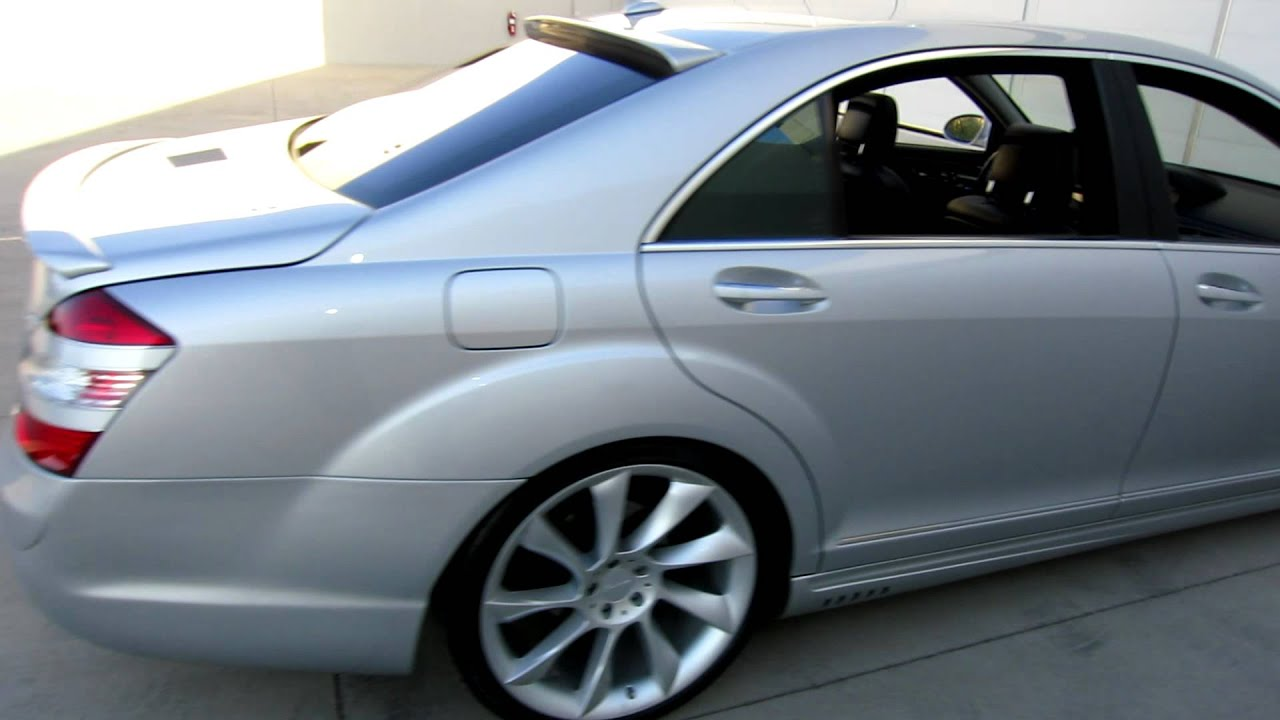 2008 Mercedes Benz S550 Lorinser Package For Sale Joey 480