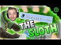 THE SLOTH [Perm Slowness 2] CHALLENGE + TEAMERS?? ( Hypixel Skywars )