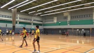 2015-12-06 Division 2 學界手球 8強 王華湘VS張沛松 上半場