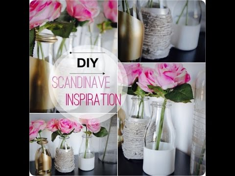 Diy inspiration scandinave d co ik a tuto rapide youtube - Deco scandinave ikea ...