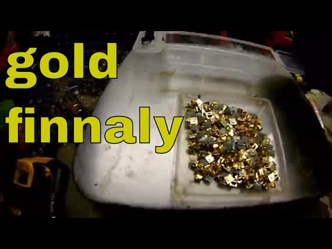 total recovery from telecom device: gold and other metals recovery part 4