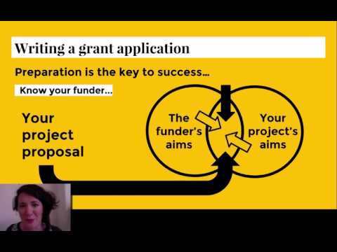 Fundraising: Writing Grant Applications - UK