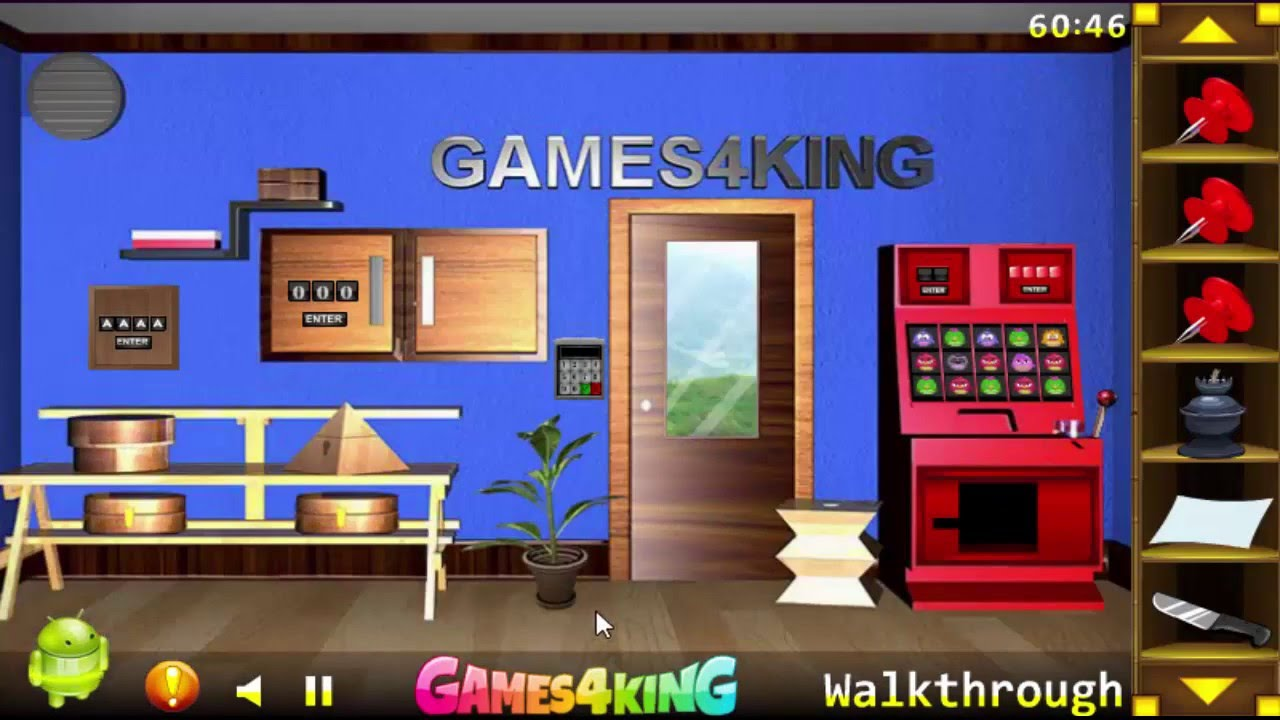 G4k Blue Room Escape Walkthrough