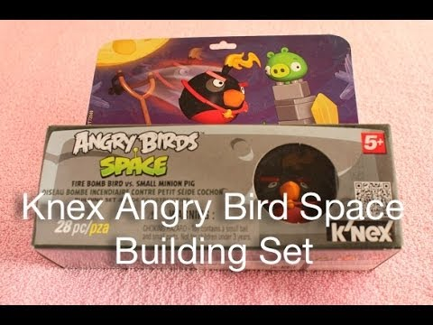 Knex Angry Bird Space Building Set