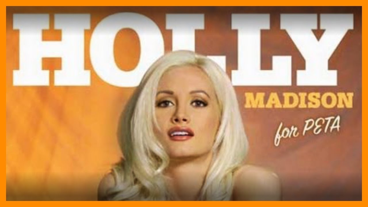Holly Madison Bares It All For Peta Youtube
