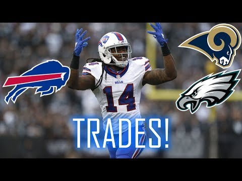Buffalo Bills trade Sammy Watkins to the Rams; Ronald Darby to the Eagles!
