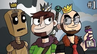 The Three Conquistadors : Crusader Kings II feat. Northernlion and MathasGames (1)