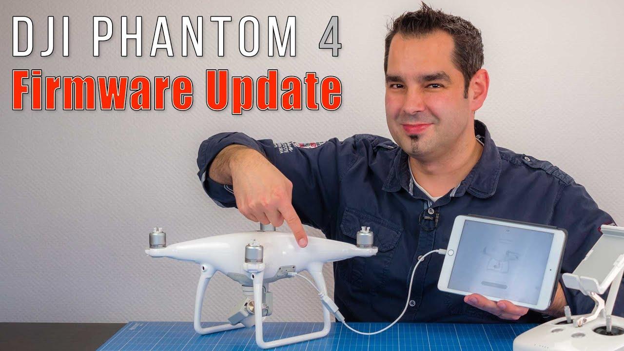 Dji phantom 4 как обновить военные дроны