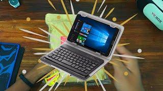 Baik Asus Zenfone 2 RAM 4 GB dan Tablet Advan I7 ternyata support USB OTG. Tinggal colok langsung co.