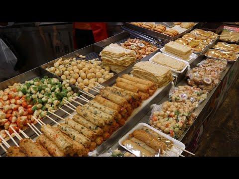 생활의달인에 나온 37년 수제어묵달인의 놀라운 스킬(Amazing Fish Cake Master)/Korea Street Food