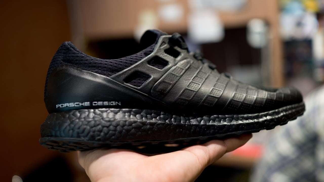 new product 8b106 195d1 แกะกล่อง Prosche Design x Adidas Ultra boost All Black