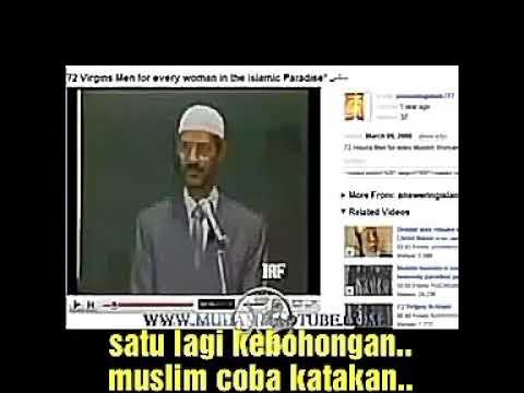 Christian Prince (Teks Indonesia) Zakir Naik : Nasib wanita muslim di surga