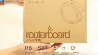 Видеообзор Wi-Fi маршрутизатора MikroTik SXT Lite5