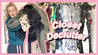 HUGE Closet Clear Out | Satisfying Declutter