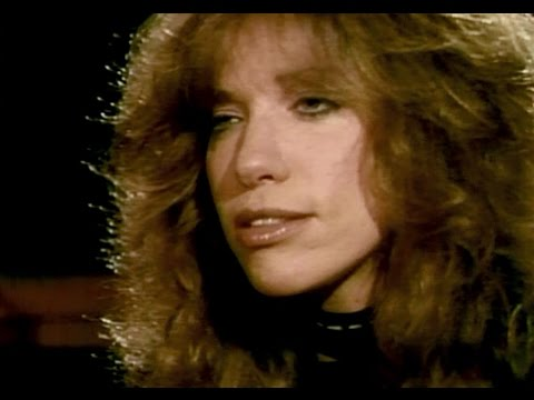 Carly Simon talks about divorcing James Taylor - 1981