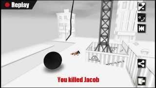 Kill the bad Guy - 100% Walkthrough lvl 1 - 5 Golden Star