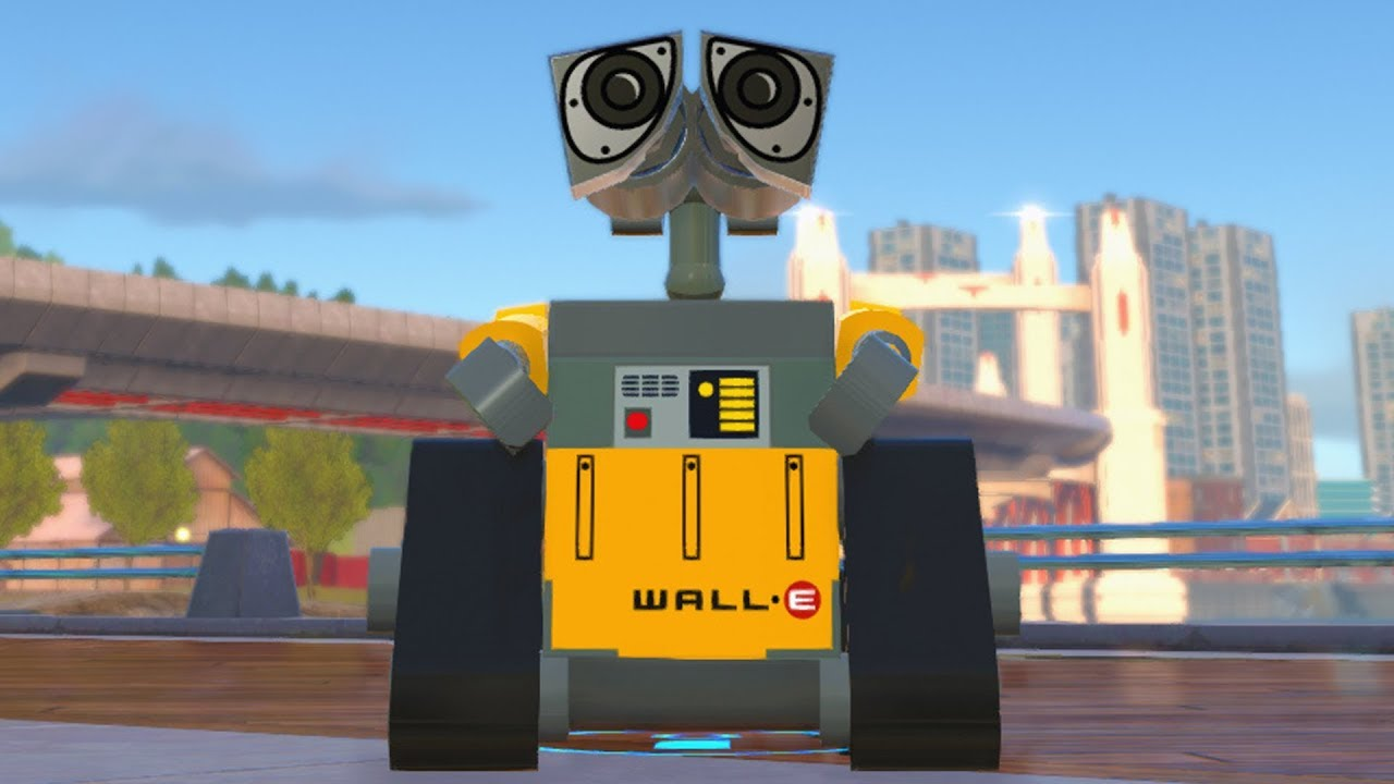 lego the incredibles wall e open world free roam gameplay pc hd
