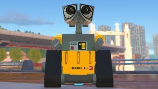 LEGO The Incredibles - WALL-E - Open World Free Roam Gameplay (PC HD) [1080p60FPS]