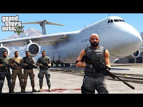 ZOMBIE INFECTION AT ARMY BASE!!! GTA V Zombie Apocalypse Mod