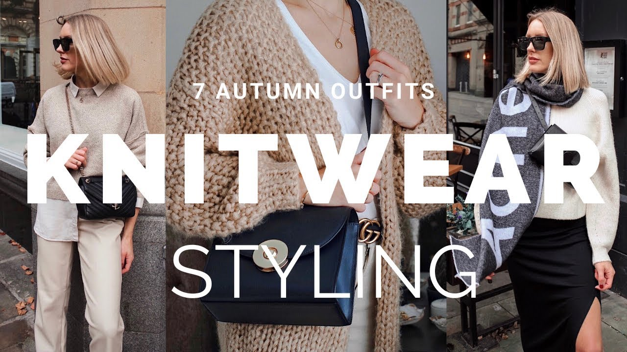 [VIDEO] - STYLING KNITWEAR FOR AUTUMN | 7 Fall Outfit Ideas ft ASOS & Missguided 4