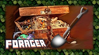 Digging for treasure in Forager