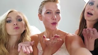 Angel Wings for Two: A Photoshoot w/ Make-A-Wish | Karlie Kloss