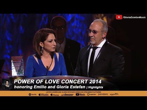 Power of Love Concert 2014 honoring Gloria Estefan and Emilio Estefan