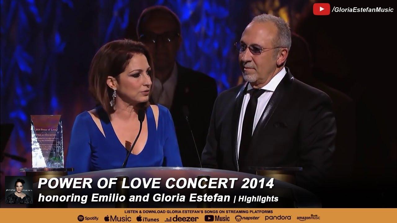 Power of Love Concert 2014 honoring Gloria Estefan and ...
