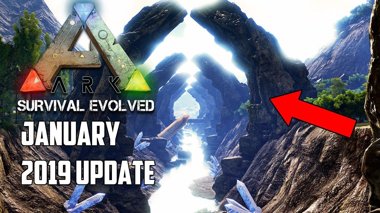 You WILL NOT BELIEVE THIS NEXT ARK UPDATE     January 2019! - FINALLY!
