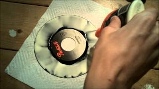 Experiment - Does Wood Glue Clean A Record?