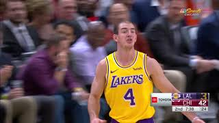 Alex Caruso Full Play 11/05/19 Los Angeles Lakers vs Chicago Bulls | Smart Highlights