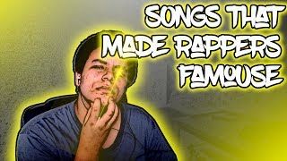 Songs That Made Rappers Famous Deserved Undeserved Lit Reaction
