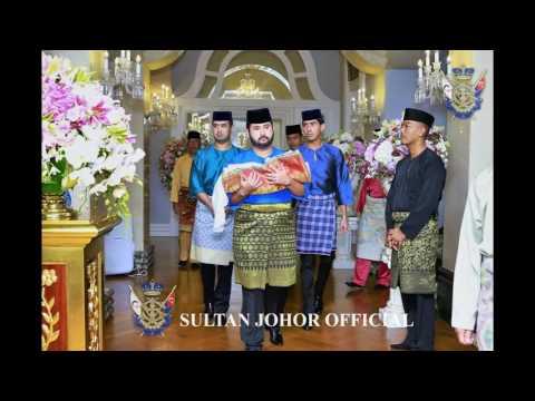 Sultan of Johor : Majlis Berandan Surai YAM Tunku Khalsom Aminah Sofiah, Istana Bukit Serene