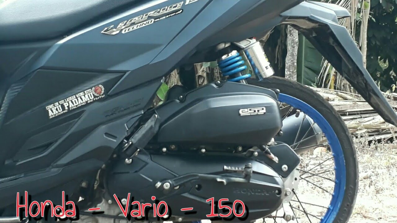 Honda Vario 150 Ring 17 YouTube
