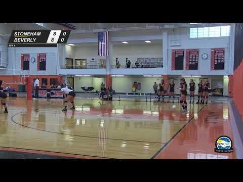 Beverly vs Stoneham High School Volleyball