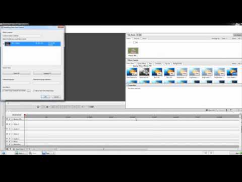 How to Import from an AVCHD Camcorder in...