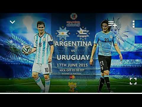 uruguay vs argentina live streaming...