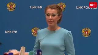 Жириновский и Собчак устроили скандал в ЦИК
