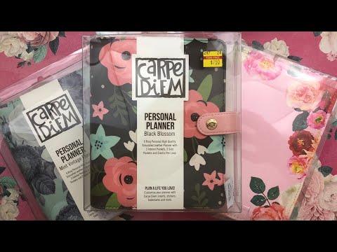 Hobby Lobby Planner Haul ft  Carpe Diem & Heidi Swapp