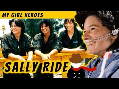 Sally Ride - My Girl Hero in Space