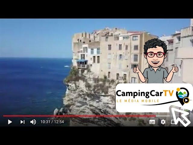 JT en Camping-Car N°66 - D'Olmeto à Bonifacio