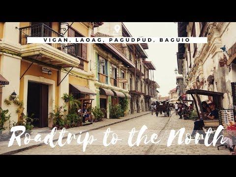 Roadtrip to the North ( VIGAN, LAOAG, PAGUDPUD, BAGUIO) Part 1 Vlog no. 4